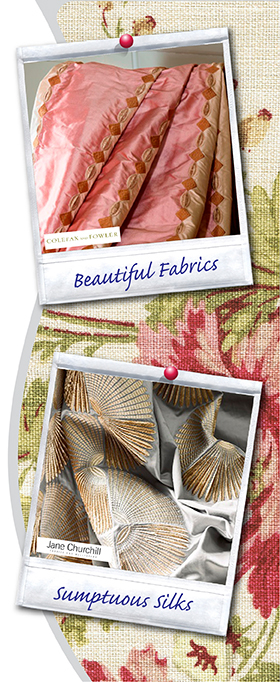 design interiors - fabric houses and sample service